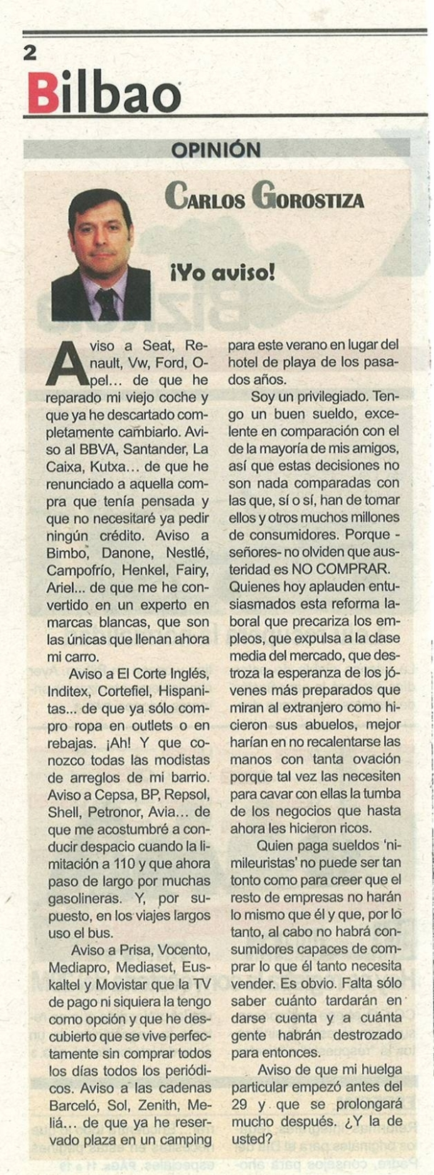 28 marzo 2012_PÁSALO: CERO CONSUMO EL #29MHuelgaGeneral