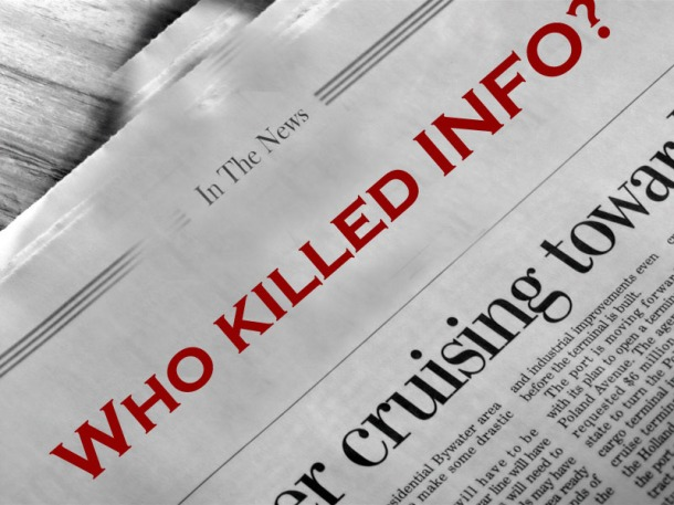 Who killed info?