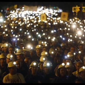 La dignidad obrera del carbón y las mentiras de los que no bajan a lamina