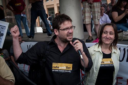Marta y Albano, No nos harán callar; imagen del blog DempeusPerLaSalut