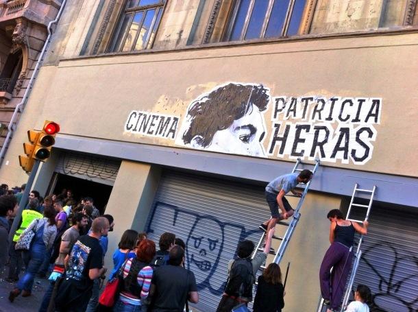 Cinema Patricia Heras | Foto: Mónica Solanas