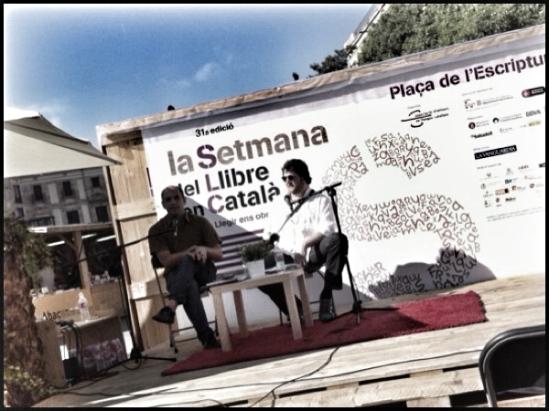 De izquierda a derecha: Leopoldo Blume y Sergi Bernal | Foto: Mónica Solanas