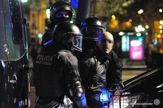 Barcelona, 14 de noviembre de 2012 Fotografía de Fotomovimiento