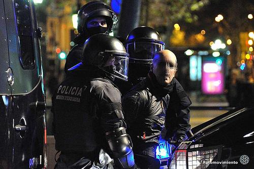 Detenciones en la jornada de huelga general. Barcelona, 14 de noviembre de 2012 | Foto: Manu Gómez para Fotomovimiento