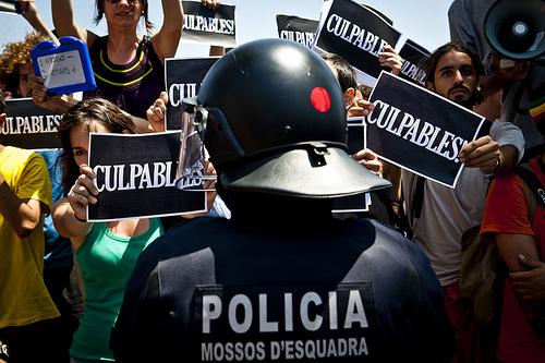 Protesta Hospital Dos de Maig. Barcelona, 21 de julio de 2011 | Foto: Ramon Serra para Fotomovimiento