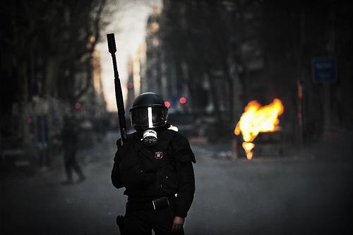 Jornada de huelga general en Barcelona, 29 de marzo de 2012 | Foto: Sergi Bernal para Fotomovimiento