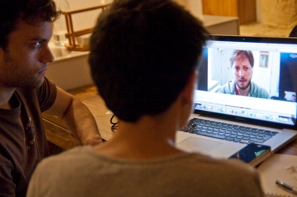 Pablo Giménez, director, guionista y productor del documental, desde Argentina | Fotografía: Aitor Fernández