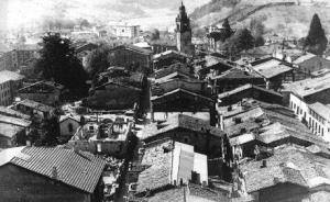 Bombardeo en Durango. 1937