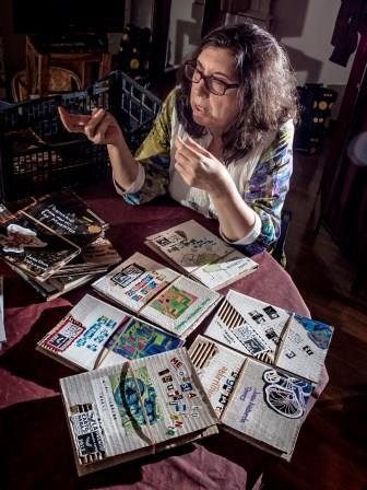 Diferentes portadas para una misma novela | Foto: Jorge Lizana