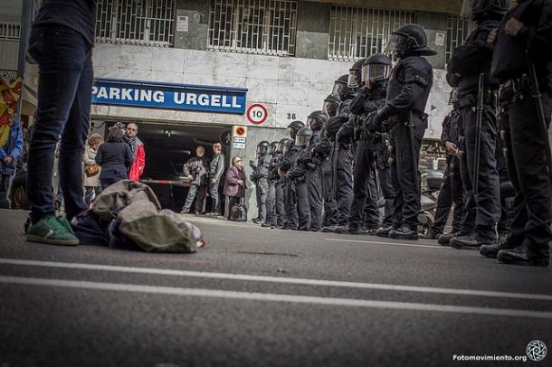 Desalojo CSO La Otra Carbonería, febrero 2014 | Foto: Bru Aguiló para Fotomovimiento