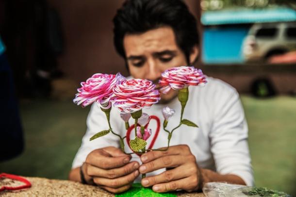 Gustavo Adolfo Godoy, guatemalteco de 25 años. Su objetivo: llegar a Canadá | Foto: Anna Surinyach para MSF