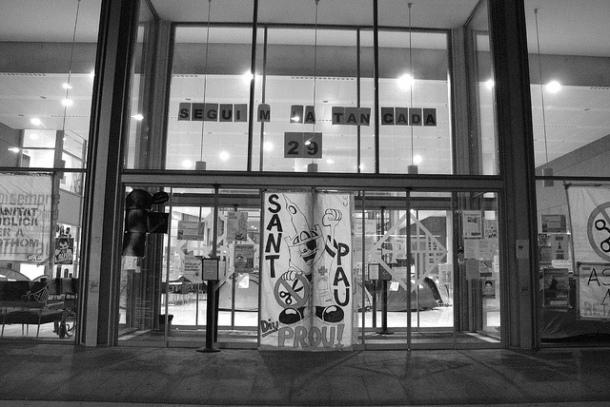 Hospital de Sant Pau, 29 dias de encierro; diciembre 2012 | Foto: Cristina Molina