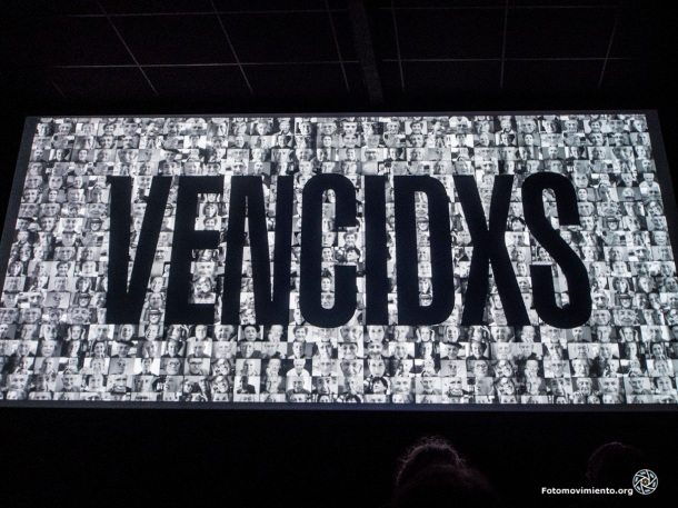 Presentación del documental Vencidxs en Barcelona, 16 noviembre 2013 | Foto: Jorge Lizana para Fotomovimiento