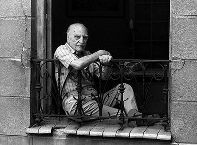 Francisco Ayala en Madrid, 1992 | Foto: MIGUEL GENER