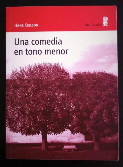 Hans Keilson, Una comedia en tono menor. Editorial Minúscula. Colección Alexanderplatz. Portada | Fotografía: Mónica Solanas